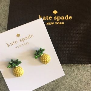 [Kate Spade] 🍍Pineapple Stud Earrings